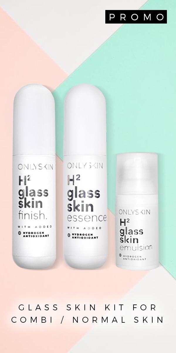 GLASS SKIN KIT FOR COMBI/NORMAL SKIN